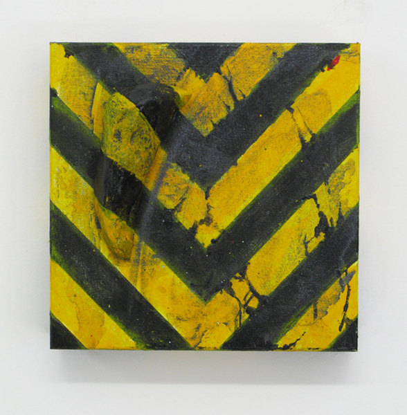 """Chevron's Lies"" - 6"" x 6"" x 2.75"". 2014"