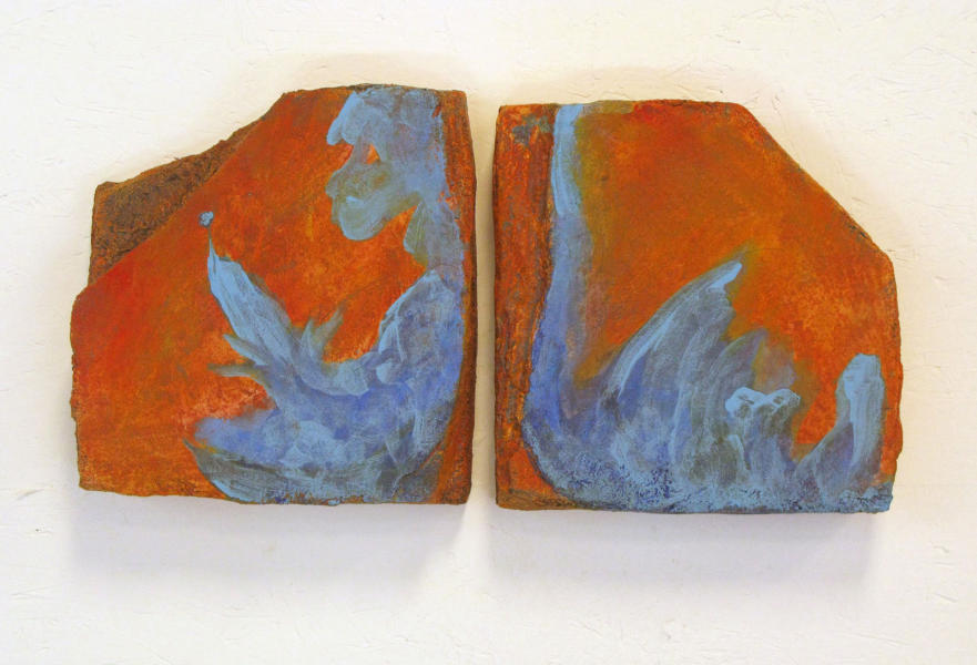 """Separation Blues"" -diptych